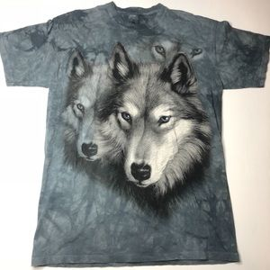Double Wolf The Mountain T-shirt